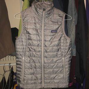 Patagonia Grey Puffer Vest
